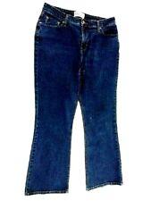Levi Strauss Signature At Waist Bootcut Blue Jeans Misses Size 14 Short 32X28