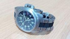 Vintage Hamilton Khaki Army Military Swiss Watch Date Sapphire Crystal 100m