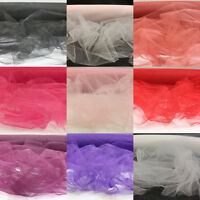 1 METRE OF BRIDAL VEILING NET VEILS WEDDINGS FASCINATORS MATERIAL FABRIC TUTU