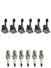 6 Ignition Coils & Spark Plugs replacement for 2002-2004 Infiniti I35 3.5L (Fits: Infiniti I35)