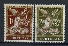 Portugal 1962 Sg # 1201-2 San Gabriel Usado Set #a 72500