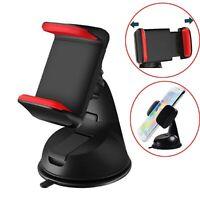 Red 360° Car Windscreen Dashboard Mount Holder for Sony Xperia Z5 Z3 L2 L1 M5 XA