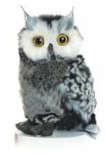 New Plush Owl bird Toy Stuffed Animal soft gift for her Realistic toy cute Bean