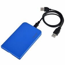 Aluminum USB 2.0 SATA 2.5 Hard Drive Disk HDD External Enclosure Case Box Laptop