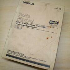 Cat Caterpillar 928g Front End Wheel Loader Parts Manual Book Catalog Oem 1996