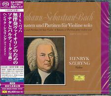 HENRYK SZERYNG-J.S.BACH: SONATAS AND PARTITAS...-JAPAN 2 SHM-SACD Ltd/Ed P80