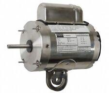 DAYTON 12V774 Washdown Motor, PSC, TEAO, 1/2 HP, 1075 rpm