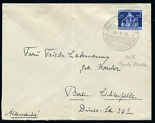 GERMANY: (12144) paquebot/Monte Olivia cancel/cover