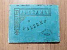 Libretto 21 incisioni PANORAMA di PALERMO Carlo Clausen inizi '900