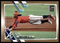 2021 Topps Series 1 Base Gold #263 Ronald Acuña Jr. /2021 - Atlanta Braves