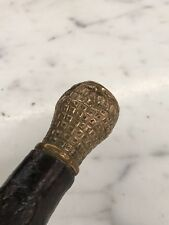 Antique 1800's Gold Fill, 35 inch Cane