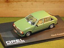 OPEL Kadett 1.6s / Vauxhall Astra 5 Door in Green 1/43rd Scale