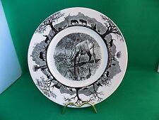 "Wedgwood The World Wildlife Fund "" WATERBUCK "" Plate"