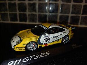 Porsche 911 GT3 RS Marc Duez GT3 Road Challenge 1/43rd Minichamps Porsche promo