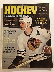 1970 HOCKEY Illustrated CHICAGO Black Hawks STAN MIKITA Color Photo's Dave KEON