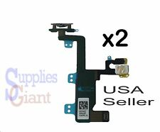 """Lot 2 Power Switch On Off Button Flash Flex Cable Ribbon for iPhone 6 4.7"""" A1549"""