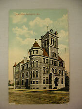 VINTAGE POSTCARD THE OLD POST OFFICE IN SPRINGFIELD MISSOURI 1914
