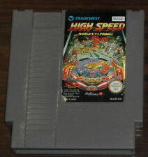 Nintendo NES. High Speed World's #1 Pinball (PAL AUS/EUR)