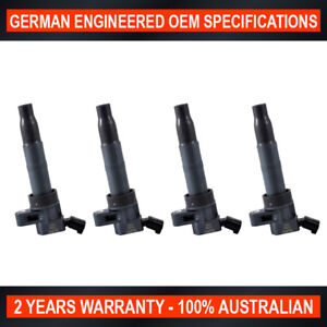 4-Pack Swan Ignition Coil for Hyundai iLoad iX35 for Kia Cerato Sportage
