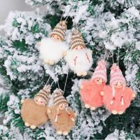 Merry Christmas Angel Doll Ornament Xmas Tree Hanging Pendant Party Decor UK
