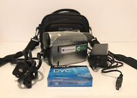 Sony Handycam DCR-HC28 Mini DV Digital Video Camcorder w/ Battery and Charger
