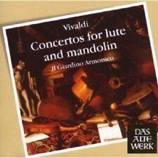 IL GIARDINO ARMONICO/ANTONINI - CONCERTOS FOR LUTE AND MANDOLIN  CD VIVALDI NEU