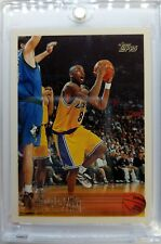1996 96 TOPPS Kobe Bryant ROOKIE RC #138, Los Angeles Lakers Black Mamba, Sharp!