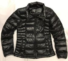 O'Neill Womens Down Jacket Coat Size Large Black Explore 700 Packable Puffer