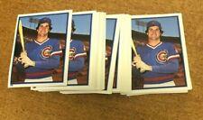 (50) 1983 TOPPS RYNE SANDBERG ROOKIE STICKER CARD LOT CUBS HOF ! Rare Wow