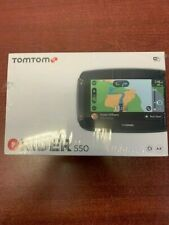 Brand New TomTom Rider 550 Motorcycle GPS Navigation Device, 4.3 Inch, with Moto