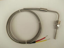 EGT HIGH TEMPERATURE EXHAUST GAS TEMPERATURE PROBE INCONEL  1100deg C  3M CABLE