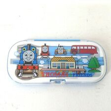 Thomas The Train Kids Utensil Set Travel Blue