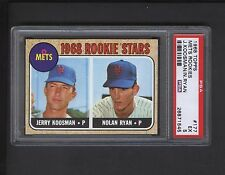 1968 Topps #177 Nolan Ryan ROOKIE PSA Graded EX 5 Centered !