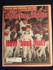 """November 4 1996 The Sporting News   How """"bout That!   Yankees World Champs"""