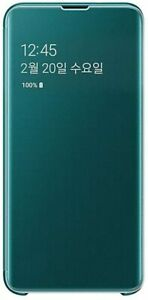 Samsung Galaxy S10e S-View Flip Cover Green Brand New In Oem Retail Package