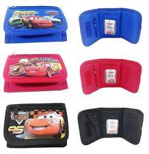 Disney Cars Mc Queen Set of 3 Children boy Tri Fold Wallet