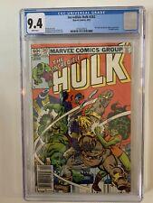 Incredible Hulk #282 CGC 9.4 (1983) - Newsstand - 1st Hulk and She-Hulk Team Up!