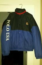 Vintage polo ralph lauren stadium p wing 92 ski rare polo usa cookie coat sz m