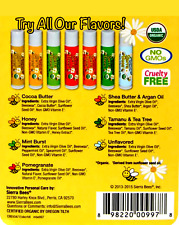 sierra bees organic lip balms flavors  X3 unit and we'll send you + more gifts