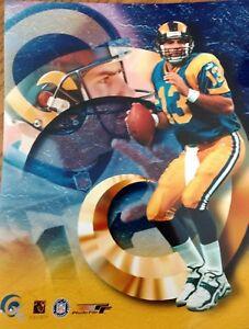 KURT WARNER 1999 PORTRAITS PLUS 8X10 PHOTO St. Louis Rams