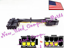 ➨➨➨ NCASE Right Angle Female 6-Pin to 8-Pin PCI-E Lay-Flat Power Supply Ad. ➨➨➨