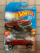 Hot Wheels Mattel Hot Trucks 2019 Chevy Silverado Trail Boss Lt Pickup Diecast