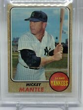 Mickey Mantle 1968 Topps  #280 BVG 4