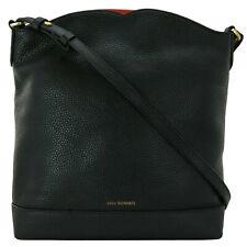 Lulu Guinness Peekaboo Lip Vanessa Shoulder Bag Black Medium Handbag