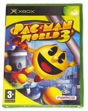 XBOX - PAC-MAN WORLD 3! BRAND NEW/SEALED! FRANCE VER.