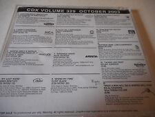 Alison Krauss James Taylor Dierks Bentley John Conlee Clint Black 2003 DJ CD