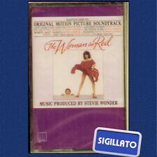 """STEVIE WONDER """" THE WOMAN IN RED """" MUSICASSETTA SIGILLATA  (MC - K7)"""