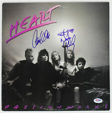 "HEART NANCY & ANN WILSON SIGNED ""PASSION WORKS"" ALBUM COVER PSA/DNA #Y45877"