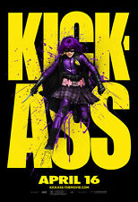KICK-ASS Movie POSTER 27x40 P Nicolas Cage Aaron Johnson Chloe Moretz