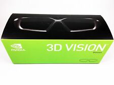 New Genuine Nvidia Wireless 3d Vision Extra pair Glasses kit